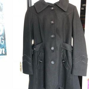 Black MISS SIXTY Trench Coat.